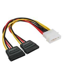 Kabel Strom Y-Kabel an 2x SATA HDD