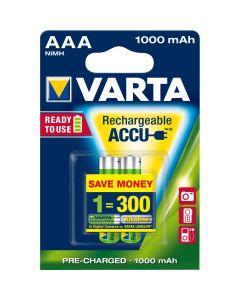 Z/ Batterien Varta ACCU AAA 2x 1000 mAh