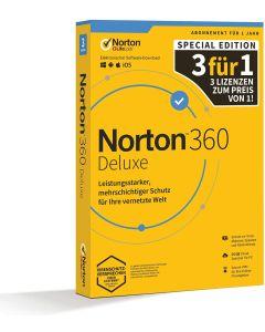 Softw. Norton 360 Deluxe Box     1U/3D