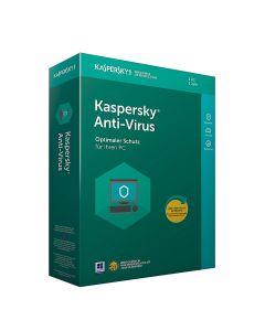 Softw. Kaspersky Anti-Virus 2019 1PC