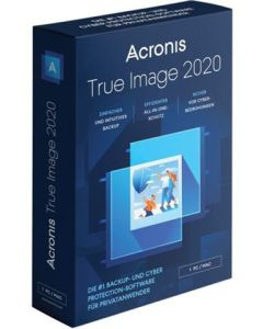 Softw. Acronis TrueImage 2020 1 Liz.