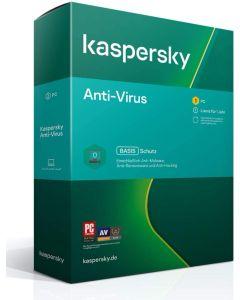 Softw. Kaspersky Anti-Virus 2021 1PC