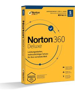 Softw. Norton 360 Deluxe Box     1U/5D