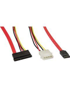 Kabel S-ATA Anschlusskabel Daten+Strom