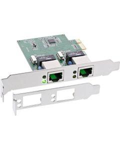 Netzw. G-LAN 2x RJ45 PCIe Low Profile