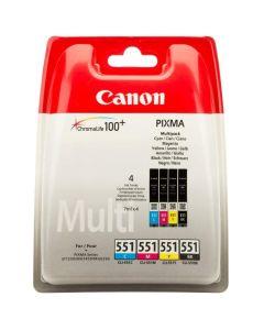 Canon Tinte CLI-551   Multipack BK/C/M/Y