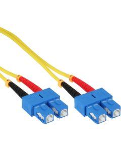 ZL/ LWL Duplex, SC/SC, 9/125µm/OS2  0,5m