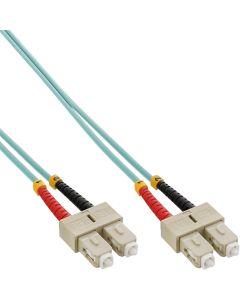 ZL/ LWL Duplex, SC/SC, 50/125µm/OM3 7,5m