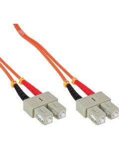 ZL/ LWL Duplex, SC/SC, 50/125µm/OM2   2m