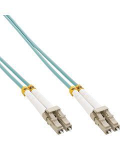 ZL/ LWL Duplex, LC/LC, 50/125µm/OM3 0,5m