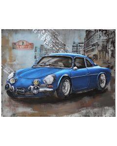CIMPLEX Sports Car blue 80 x 60 cm  -660