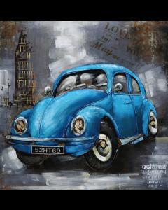 CIMPLEX Blue Car 100 x 100 cm      -540B