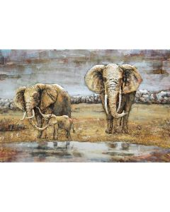 CIMPLEX Elefants  120 x 80 cm      -1432