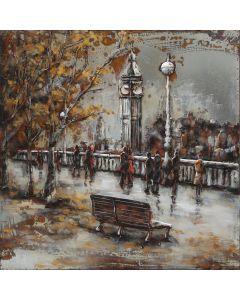 CIMPLEX London Autumn 100 x 100 cm  -787