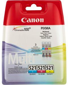Canon Tinte CLI-521    Multipack C/M/Y