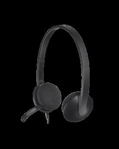 Logitech Headset H340 USB black