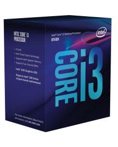 CPU Intel Core i3-8100  BOX 3.6GHz  1151