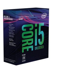 CPU Intel Core i5-8600K BOX 4.3GHz  1151