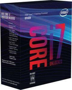CPU Intel Core i7-8700K BOX 4.7GHz  1151
