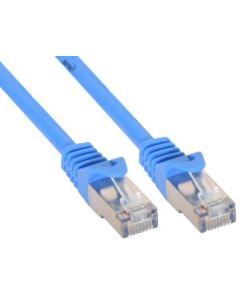 ZY/Patchk C5e  0,5 m/blau SF/UTP