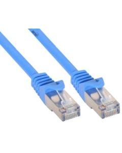 ZY/Patchk C5e 10,0 m/blau SF/UTP