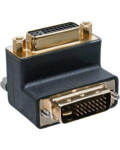 Kabel DVI Adapter 24+5 gewinkelt M/W