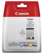 Canon Tinte CLI-571   Multipack BK/C/M/Y