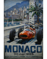 CIMPLEX Monaco Grand Prix 120 x 80 -1802